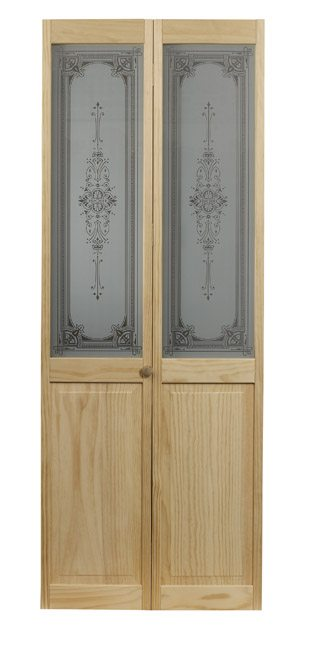 Baroque bifold door by ltl home products for Baroque glass door