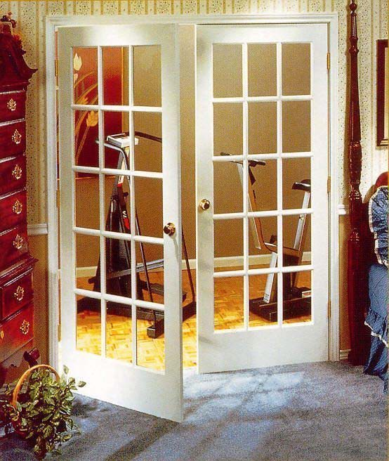 French door wood double doors for Large french doors