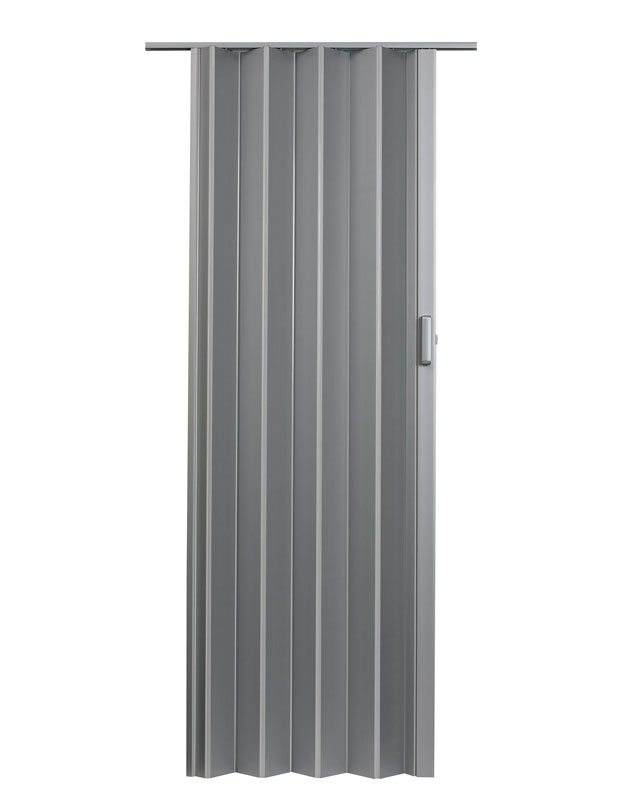 Elite folding door silver silo