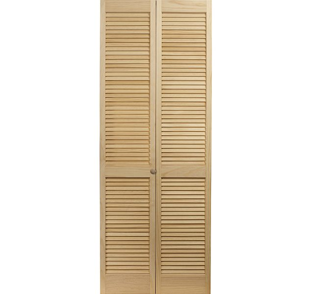 Louvered. Traditional Style Full Louver Bifold Doors ...