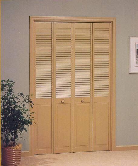 Louver folding door for 10 panel bifold door