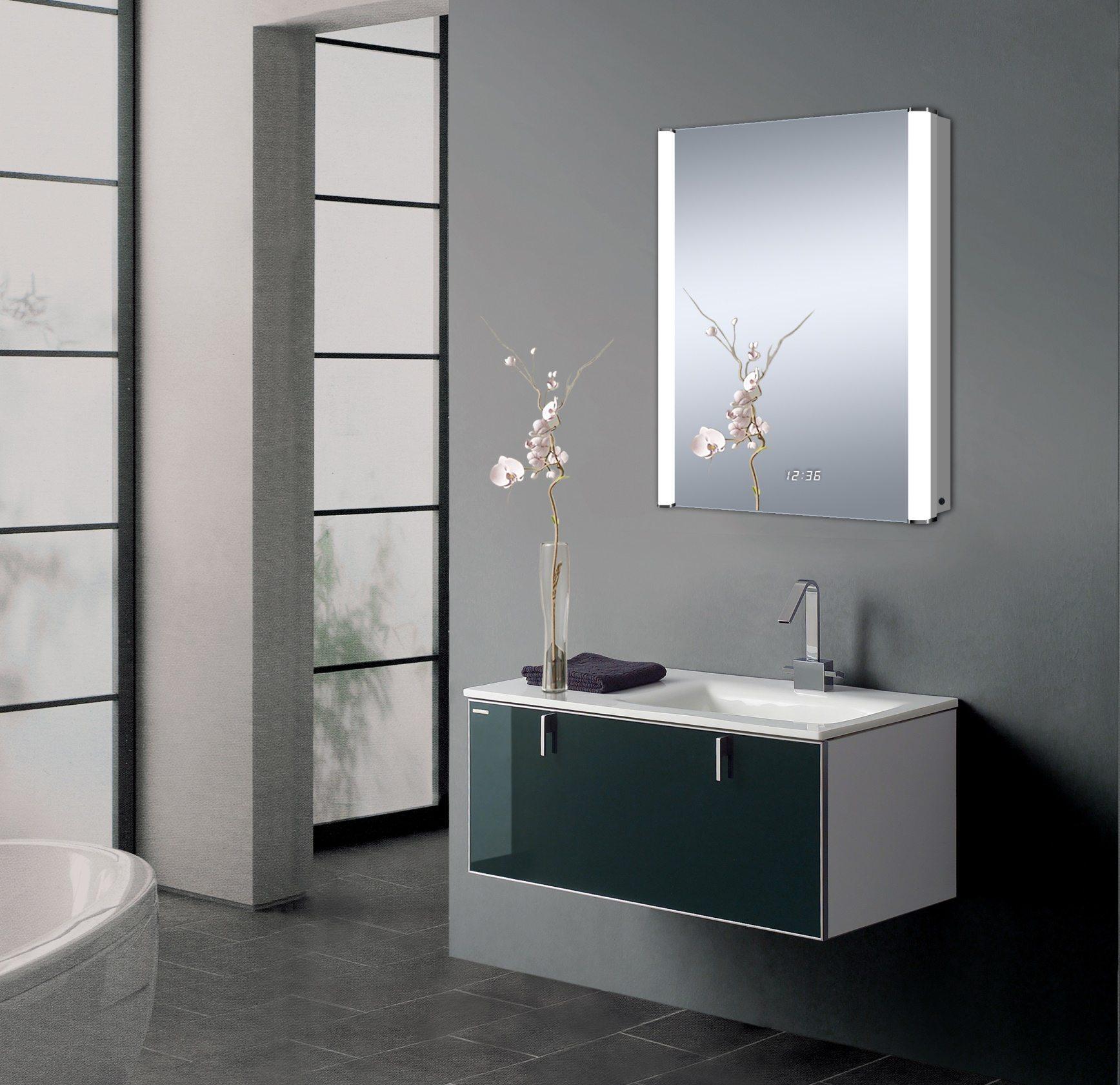 Solar LED Mirror
